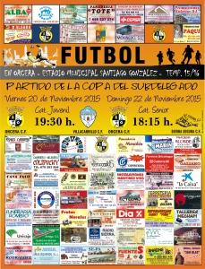cartel futbol 20 y 22 noviembre