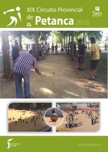 cartel Petanca 2016