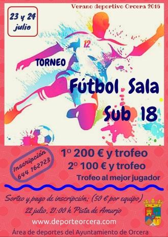 futbol sala sub 18 2016