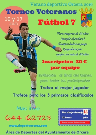 Torneo Veteranos Fútbol 7