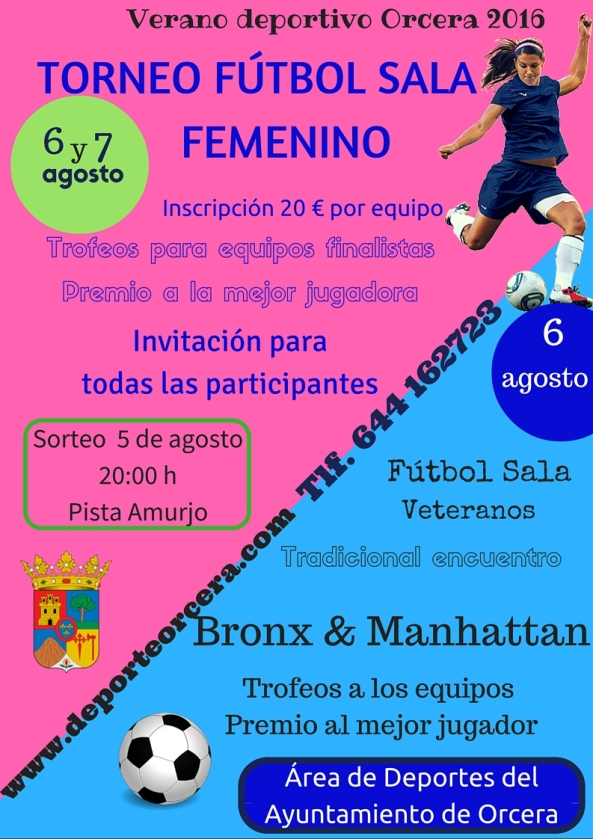 futbol sala femenino y veteranos