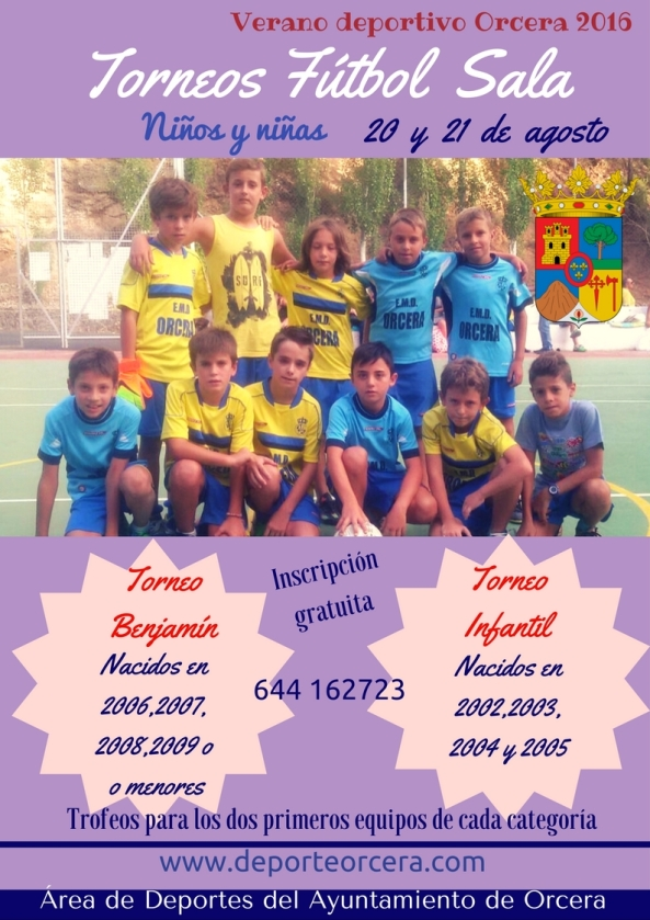futbol sala niños 2016