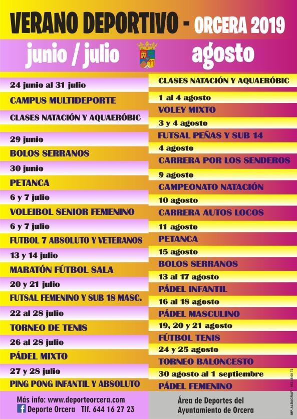 cartel verano deportivo 19.