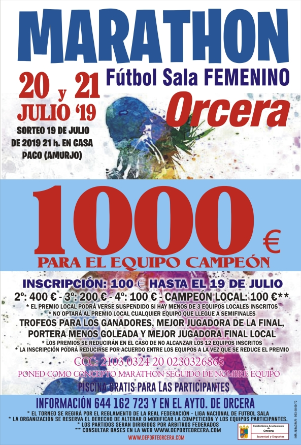 cartel marathon femenino 19.