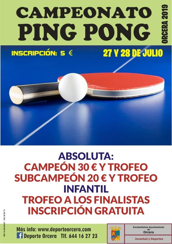 cartel ping pong 2019