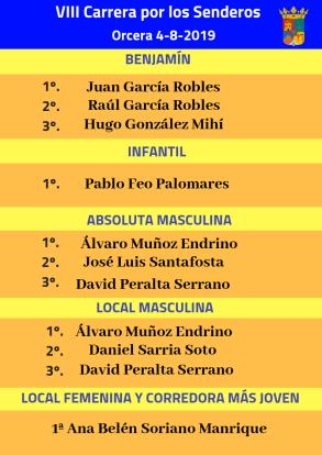 clasificaciones carrera 2019 1