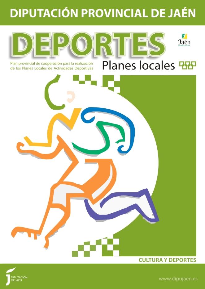 Cartel A3 Deportes Planes Locales